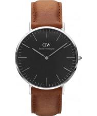 Daniel Wellington DW00100132 relógio clássico 40 milímetros Durham preto