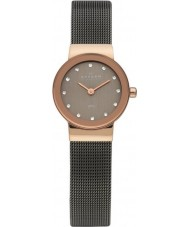 Skagen 358XSRM Ladies Klassik relógio malha cinza
