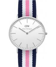 Daniel Wellington DW00100050 Ladies clássico Southampton relógio 36 milímetros de prata