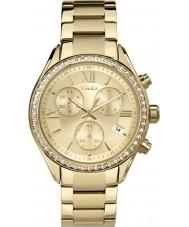 Timex TW2P66900 Ladies miami relógio cronógrafo de ouro
