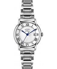 Rotary LB90140-07 les originales carviano relógio prata feminino