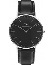 Daniel Wellington DW00100133 relógio clássico 40 milímetros Sheffield preto