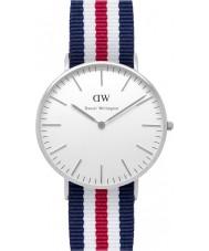 Daniel Wellington DW00100051 Ladies clássico Canterbury relógio 36 milímetros de prata