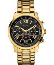 Guess W0379G4 Mens horizonte banhado a ouro relógio cronógrafo