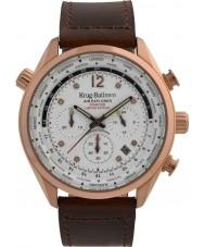 Krug-Baumen 100206DM Mens ar explorador diamante relógio de edição limitada