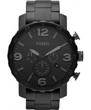 Fossil JR1401 Mens relógio cronógrafo nate