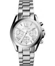 Michael Kors MK6174 Senhoras mini-Bradshaw relógio de prata cronógrafo
