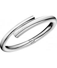 Calvin Klein KJ5GMD00010M Senhoras perfume pulseira de prata - tamanho m