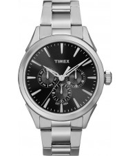 Timex TW2P97000 Homens Chesapeake prata relógio pulseira de aço