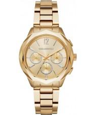 Karl Lagerfeld KL4006 Ladies optik banhados a ouro relógio cronógrafo