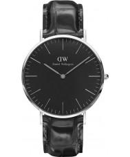 Daniel Wellington DW00100135 relógio clássico 40 milímetros de leitura preto
