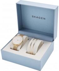 Skagen SKW1104 Conjunto de presente para senhoras karolina watch