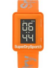 Superdry SYG204O Mens Sprint digi silicone laranja relógio pulseira