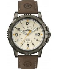 Timex T49990 Mens expedição campo marrom robusto relógio