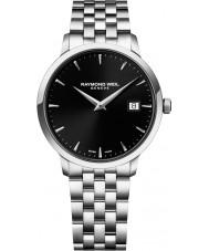 Raymond Weil 5488-ST-20001 Mens prata tocata pulseira de aço relógio