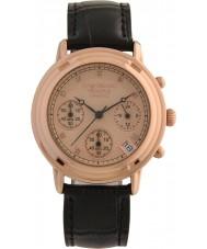 Krug-Baumen 150577DL damas de diamante Princípio subiu relógio pulseira de ouro