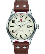 Swiss Military 6-4280-04-002-05 Mens à paisana pulseira de relógio de couro marrom