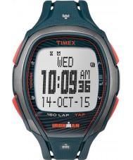 Timex TW5M09700 Ironman relógio pulseira azul de resina