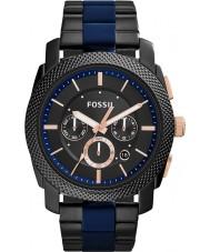 Fossil FS5164 máquina de Mens dois tons relógio cronógrafo