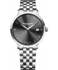 Raymond Weil 5488-ST-60001 Mens prata tocata pulseira de aço relógio