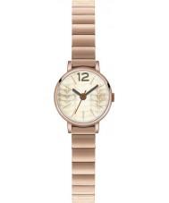 Orla Kiely OK4016 Ladies Frankie ouro rosa relógio banhado