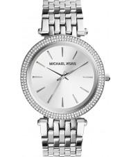 Michael Kors MK3190 Ladies Darci tudo relógio de prata