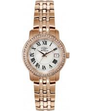 Rotary LB90093-41 Ladies les originales subiu banhado a ouro pulseira de relógio