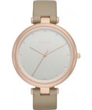 Skagen SKW2484 Ladies aveia tanja relógio com pulseira de couro