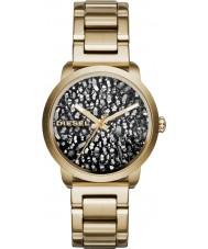 Diesel DZ5521 Ladies incendiar pulseira de relógio de aço ouro