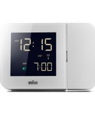 Braun BNC015WH-RC relógio digital branco