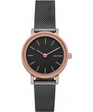 Skagen SKW2492 Ladies Hald relógio malha de aço de prata