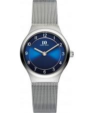 Danish Design V69Q1072 As senhoras de aço pulseira de prata malha relógio