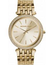 Michael Kors MK3191 Ladies Darci tudo relógio de ouro