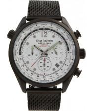 Krug-Baumen 100406DM Mens ar explorador diamante relógio de edição limitada