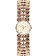 Orla Kiely OK4020 Senhoras laurel ouro rosa relógio banhado