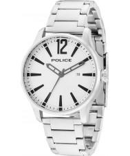 Police 14764JS-04M Homens Dallas aço de prata pulseira de relógio