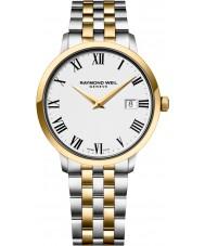 Raymond Weil 5488-STP-00300 Mens tocata dois tons pulseira de aço relógio