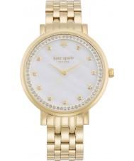 Kate Spade New York 1YRU0821 Ladies monterey banhado a ouro pulseira relógio
