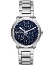 Diesel DZ5522 Ladies incendiar relógio pulseira de aço de prata