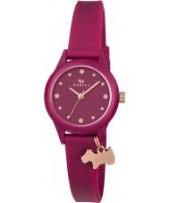 Radley RY2438 Ladies assistir rubi relógio pulseira de silicone
