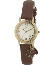 Radley RY2140 Senhoras charme couro tan relógio pulseira