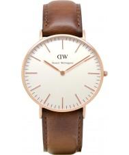 Daniel Wellington DW00100035 Ladies clássico st mawes 36 milímetros subiu relógio de ouro