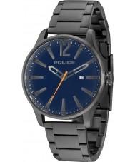 Police 14764JSU-03M Homens Dallas aço cinza pulseira de relógio