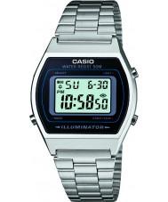 Casio B640WD-1AVEF Mens coleção relógio de prata pulseira de aço