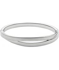 Skagen SKJ0714040 Senhoras prata elin cortar pulseira