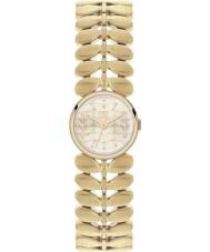 Orla Kiely OK4022 Senhoras laurel hamilton ouro relógio banhado