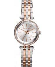 Michael Kors MK3298 Senhoras mini-darci dois tons pulseira de aço relógio