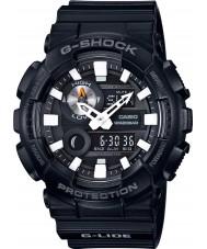 Casio GAX-100B-1AER Mens g-shock tempo do mundo resina preta relógio de pulseira