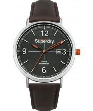 Superdry SYG190BR Campo de Oxford