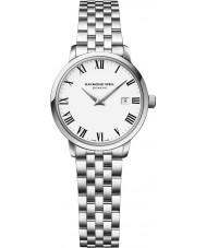 Raymond Weil 5988-ST-00300 Senhoras prata tocata pulseira de aço relógio